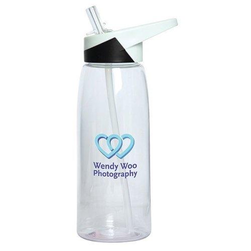 Custom Tritan Bottle With Straw