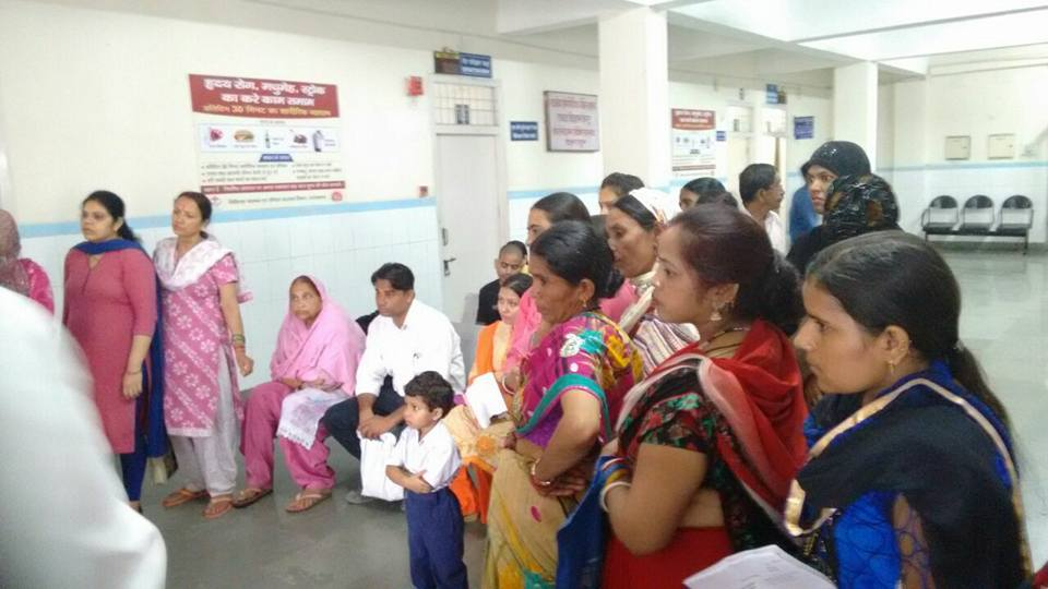 Free Breast Cancer Screening camp organized at Coronation Hospital