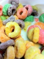 Any day that starts with Fruit Loops is gonna be a good day.