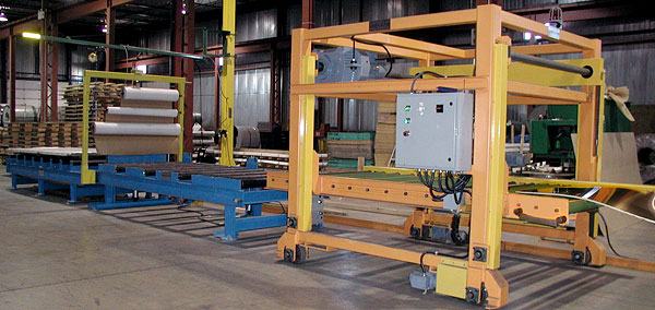 "Bundle Splitter Systems 60"" or 72"" wide with outbound conveyors and paper pass through"