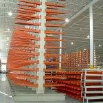 Adjustable Cantilever Sheet Rack Installation