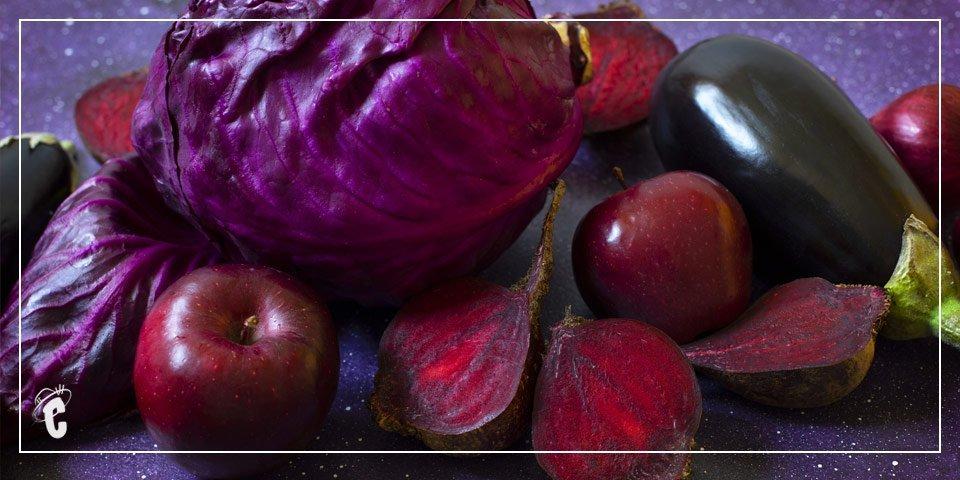 Frutas y Verduras Moradas