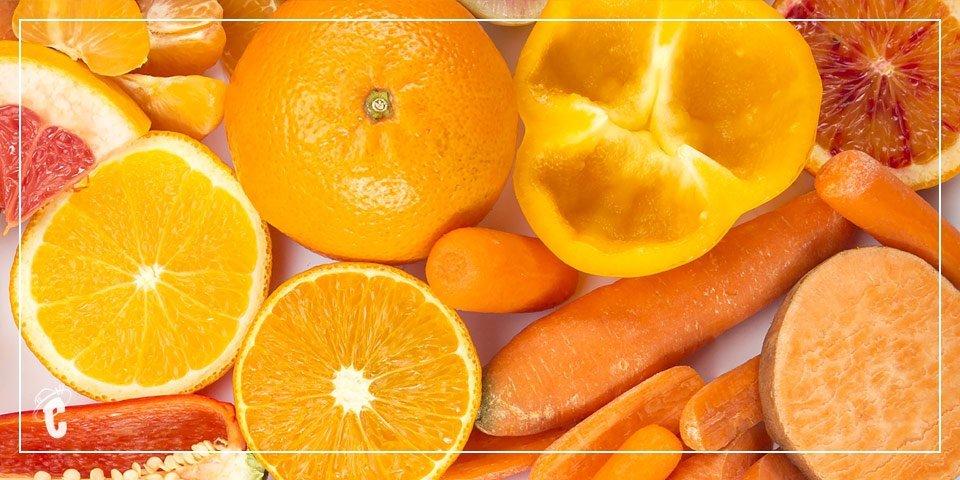 Frutas y Verduras Naranjas