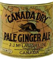 Canada Dry Pale Ginger Ale