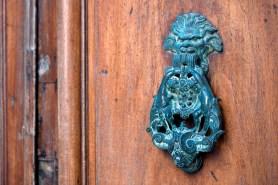 Another typical door knocker