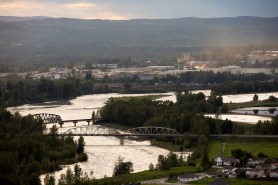 View of the Quesnel River from Red Bluff.