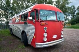 Bus in Johnston.