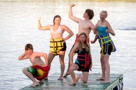 Sumo diaper life-jacket crew