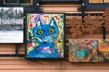 Cat, Gallery Row
