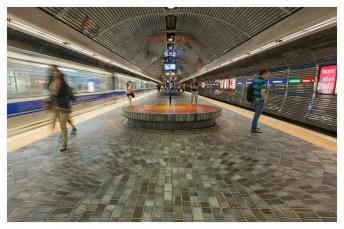 LRT (Light Rail Transit) station