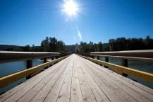 Bridge across the Quesnel River