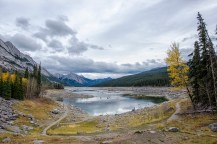 Medicine Lake in its pond-like state