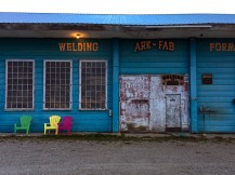 Just some welding place outside Edson