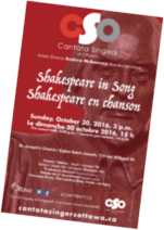 Shakespeare in Song poster