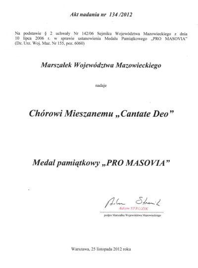 Pro Masovia