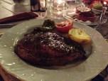 Uuh the steak!