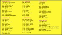 MLFW Schedule