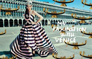 My Fascination With Venice - VOGUE JAPAN FEBRUARY 2014