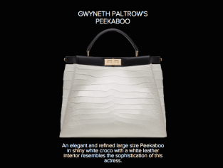 Gwineth Paltrow's Peekaboo - Fendi