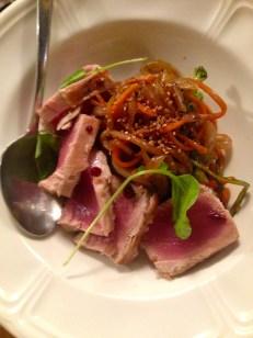 The Tuna Tataki