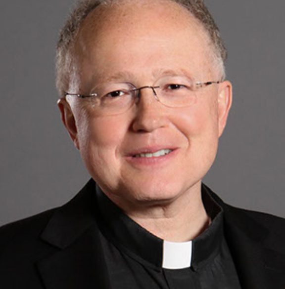 Father Scott A. Euvrard Portrait.