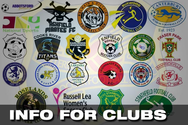 Information for Clubs