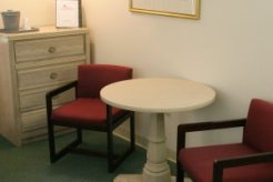 Study area in lodging rooms