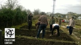 Folkestone, Cantiaci, Sustainable, Community, Allotment, Transition Town