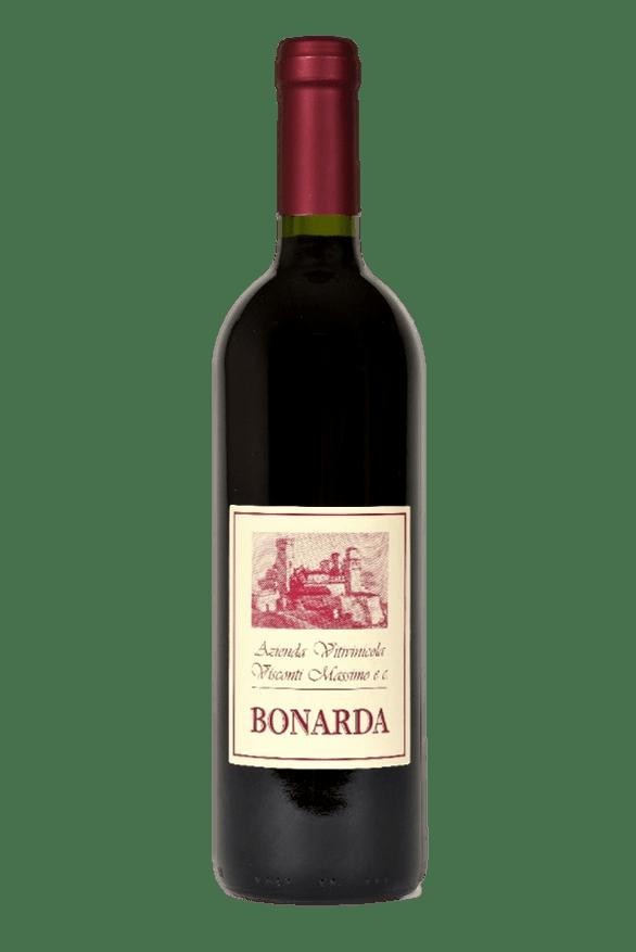 Bottiglia di Bonarda di Cantina Visconti