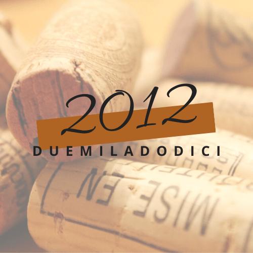 annate del Vin Santo di Vigoleno - annata 2012