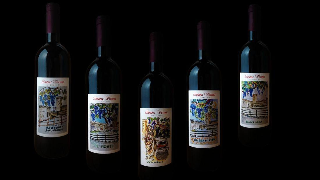 Vini rossi di Cantina Visconti di Vigoleno