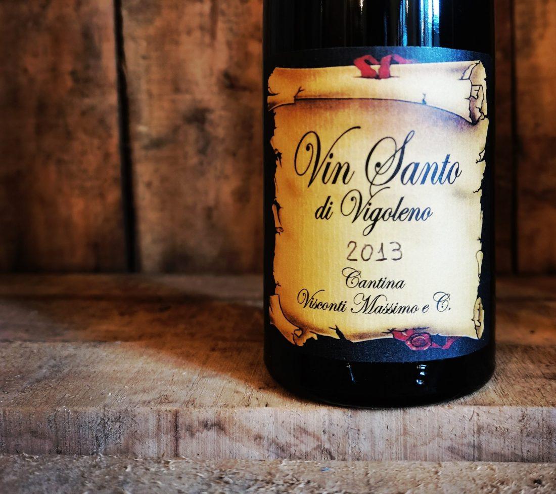 Bottiglia di Vin Santo di Vigoleno