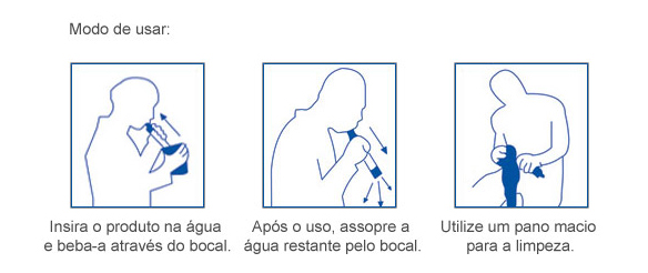 Mode de usar - LifeStraw