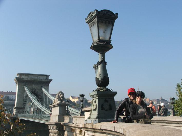Budapeste-nos-ponte
