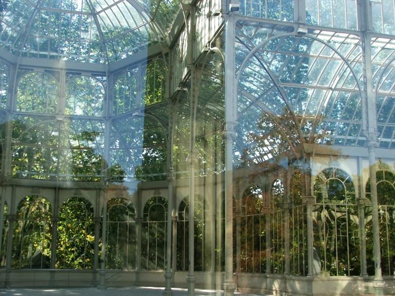 Como vimos Madrid em 2 dias palacio de cristal madrid