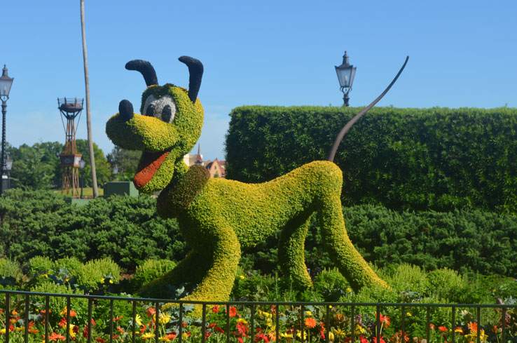 Epcot-flower-and-garden-festival-pluto