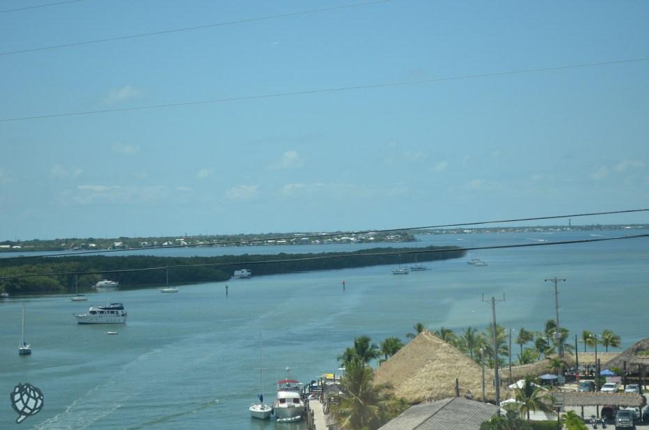 Key West vista estrada