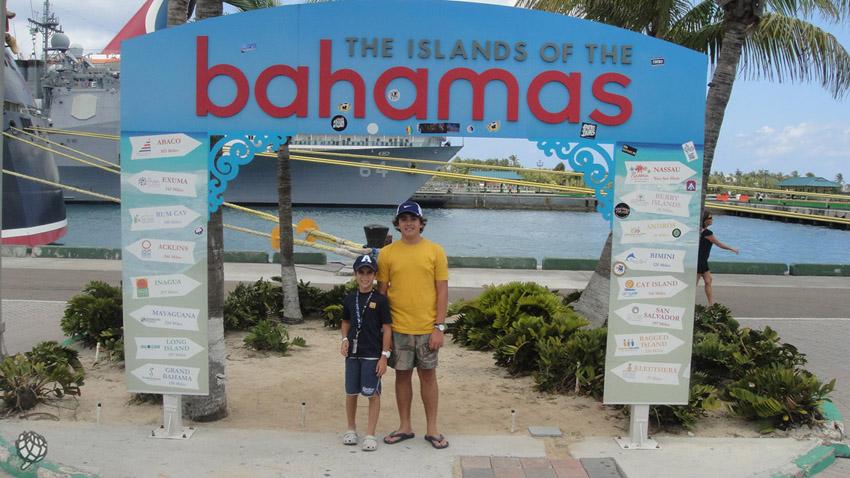Bahamas meninos