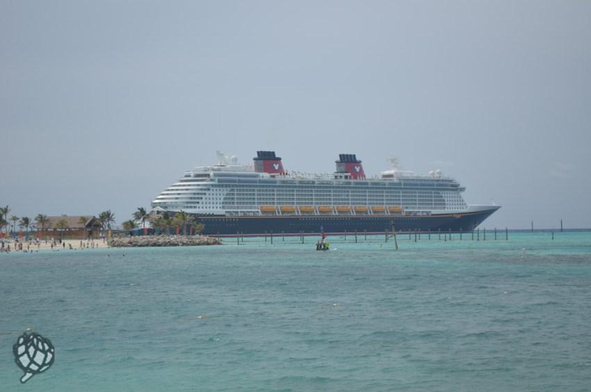 Castaway Cay navio