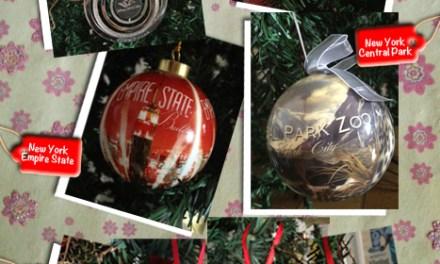 Novidades na árvore de Natal