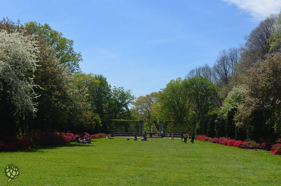 brooklyn botanic garden jardim