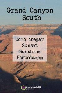 Grand Canyon South em algumas horas