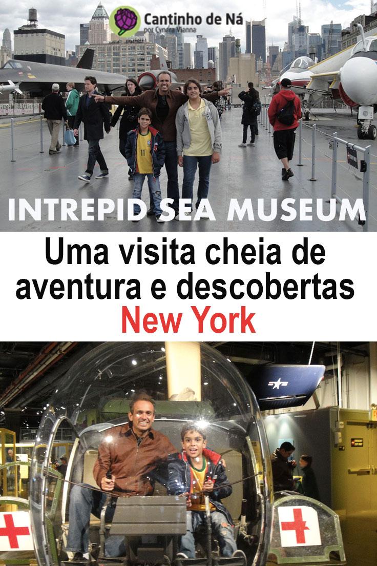 Intrepid Sea Museum em New York, imperdível para todas as idades