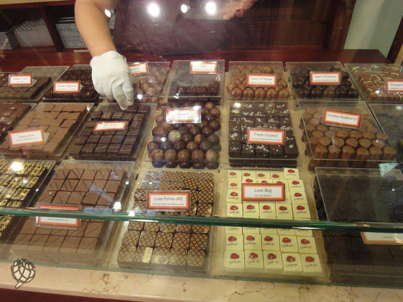 Mirian chocolate Jacques Torres
