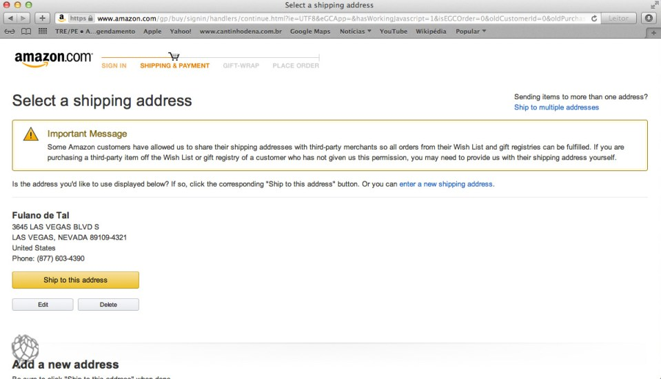 tela Amazon compra wish list5