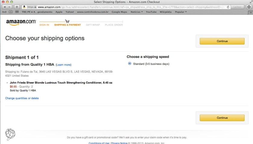 tela Amazon compra wish list6