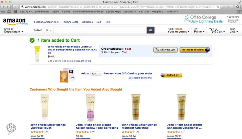 tela Amazon comprar na wish list3