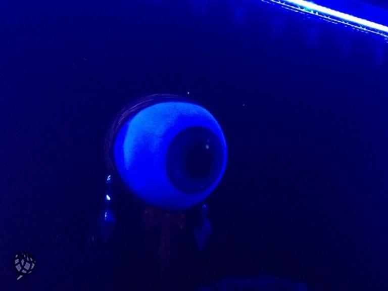 blue man olho