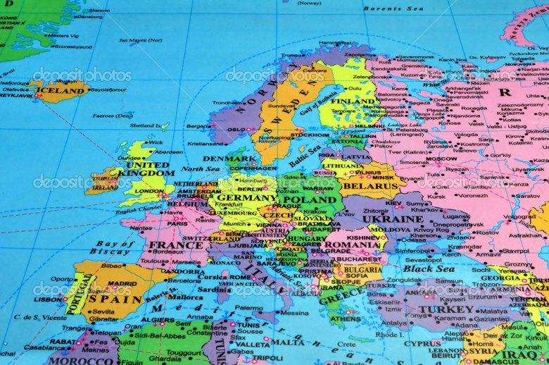 mapa europa cidades 20 dias na Europa, 3 países e 12 cidades por menos de U$ 5.000  mapa europa cidades