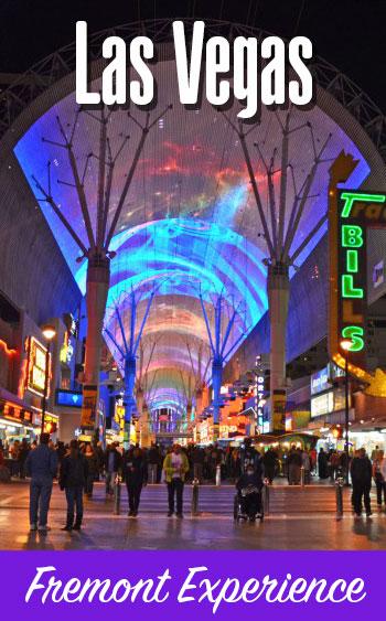 Fremont Experience em Las Vegas